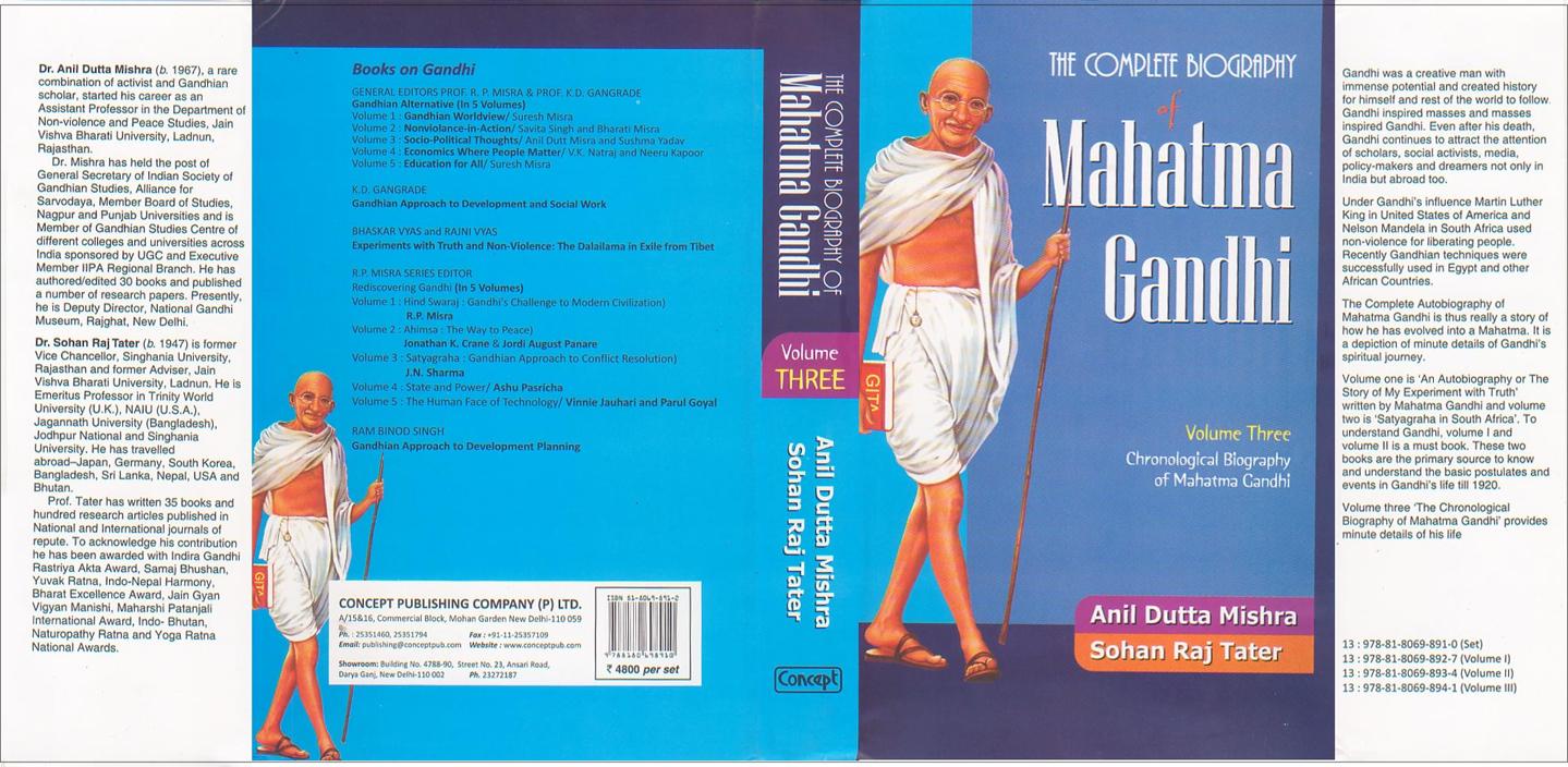 a biography of mahatma gandhi a man of profound spirituality
